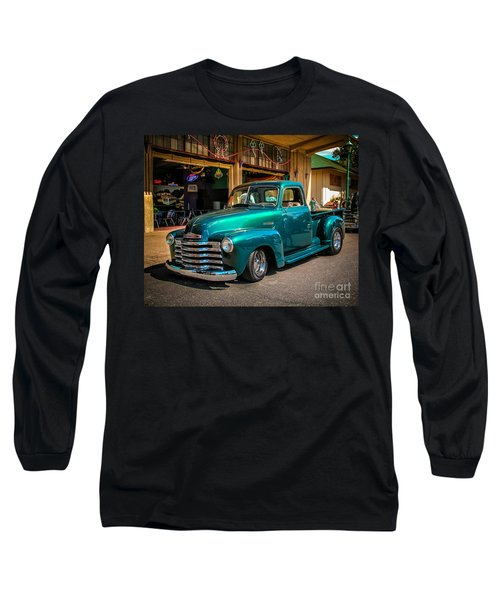 Green Dreams Long Sleeve T-Shirt by Perry Webster