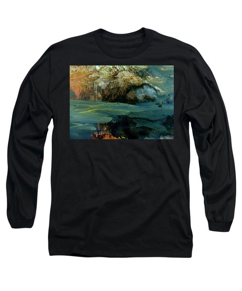 Green Fog Long Sleeve T-Shirt by Nancy Kane Chapman