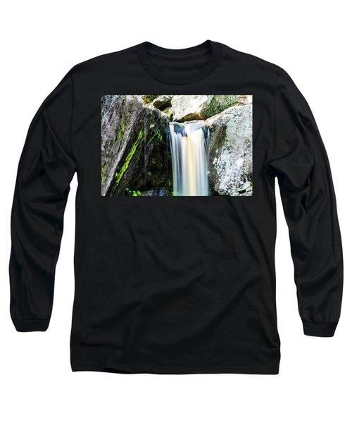 Green Glows On The Falls Long Sleeve T-Shirt