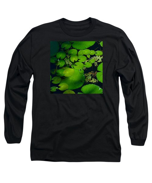 Green Islands Long Sleeve T-Shirt by Evelyn Tambour