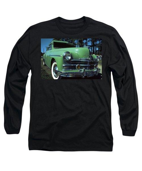 American Limousine 1957 - Historic Car Photo Long Sleeve T-Shirt