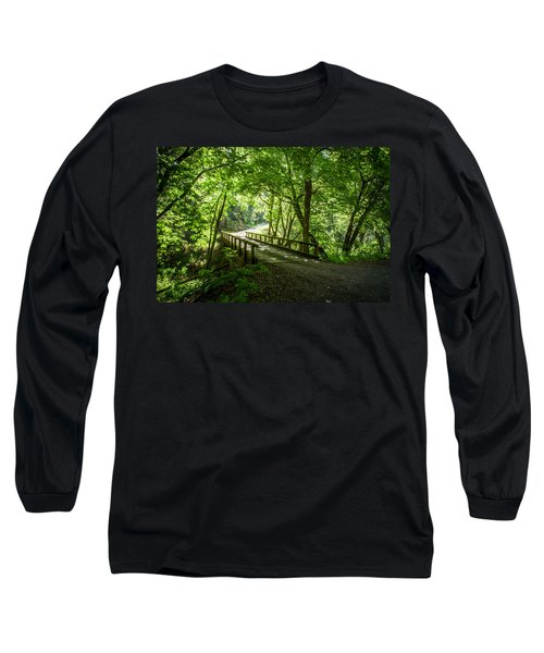 Green Nature Bridge Long Sleeve T-Shirt