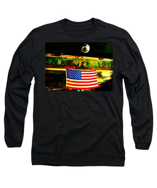 Green Parrot-key West Long Sleeve T-Shirt