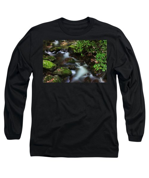 Green Stream Long Sleeve T-Shirt