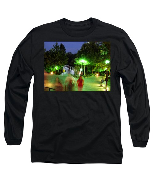 Greenville At Night Long Sleeve T-Shirt