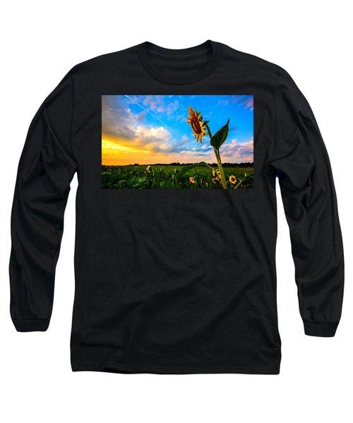 Greeting The Dawn  Long Sleeve T-Shirt