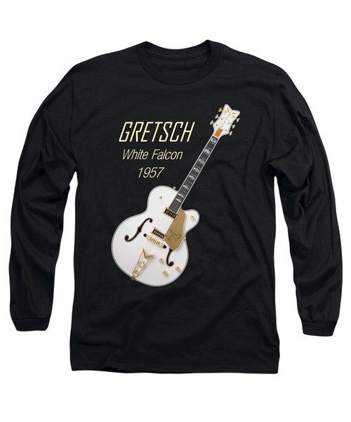 Gretsch  White Falcon 1957 Long Sleeve T-Shirt by Shavit Mason