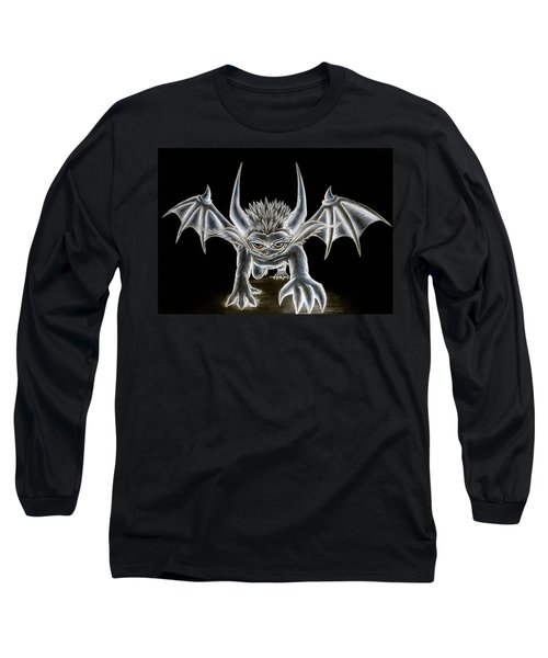 Grevil Pastel Long Sleeve T-Shirt by Shawn Dall