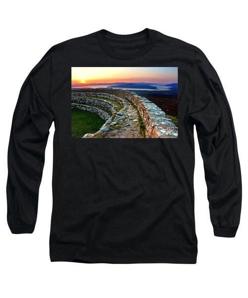 Grianan Fort Sunset Long Sleeve T-Shirt