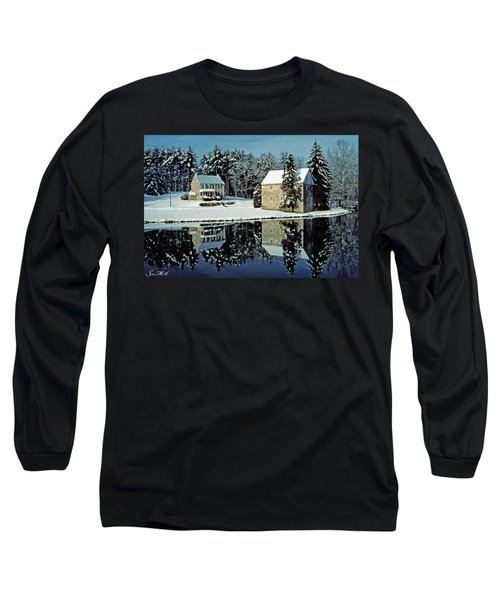 Grings Mill Snow 001 Long Sleeve T-Shirt