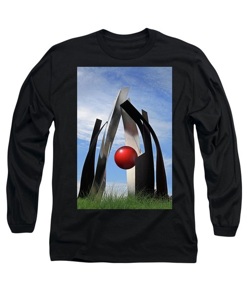 Long Sleeve T-Shirt featuring the photograph Growing Sculpture by Christopher McKenzie