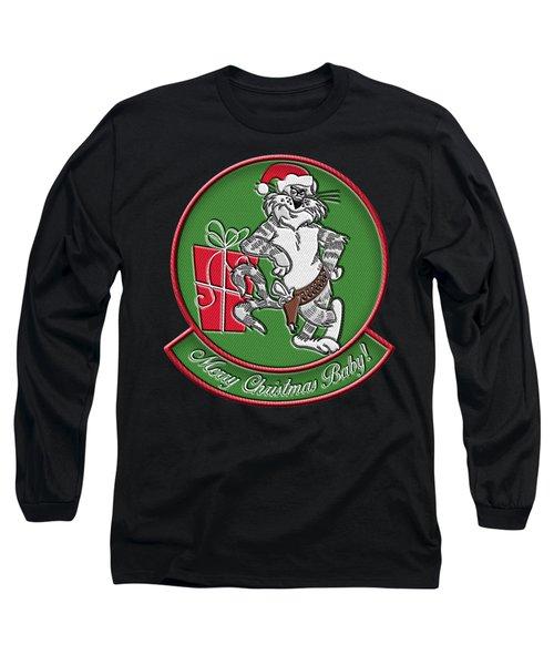 Grumman Merry Christmas Long Sleeve T-Shirt