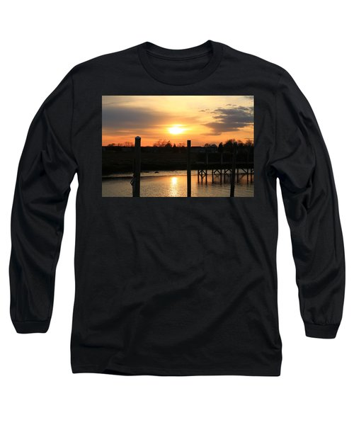 Guilford Low Tide Long Sleeve T-Shirt by Catie Canetti