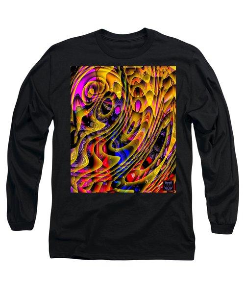 Guitar Abstract Long Sleeve T-Shirt