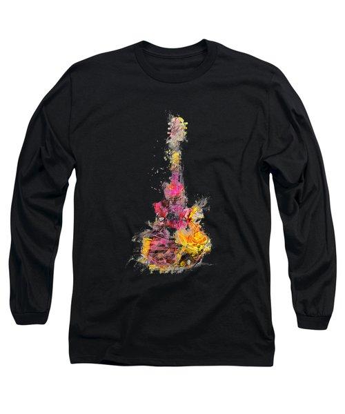 Guitar Music Instrument Long Sleeve T-Shirt