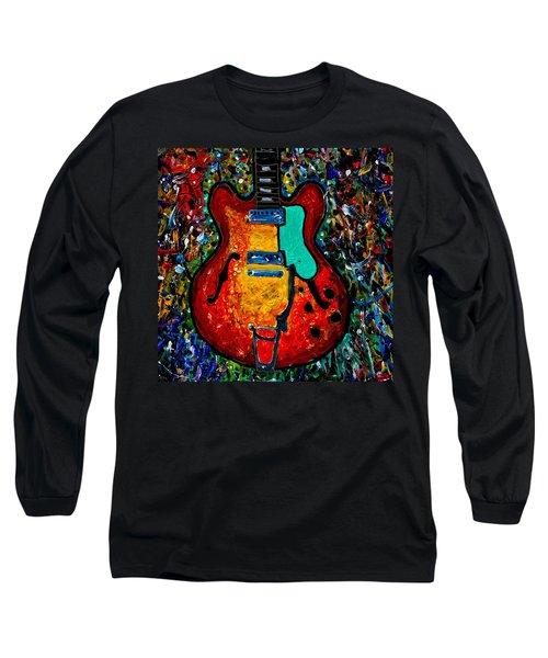Guitar Scene Long Sleeve T-Shirt