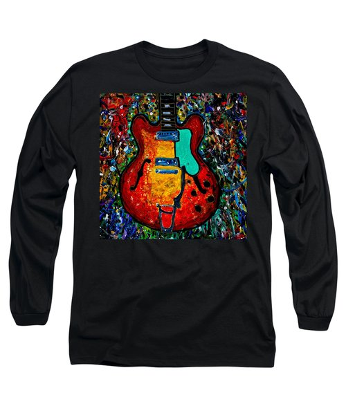 Guitar Scene Long Sleeve T-Shirt