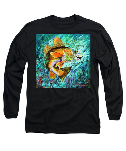 Gulf Coast Red Long Sleeve T-Shirt by Dianne Parks