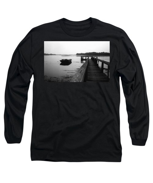 Gullah Coast Bateau Bw Long Sleeve T-Shirt