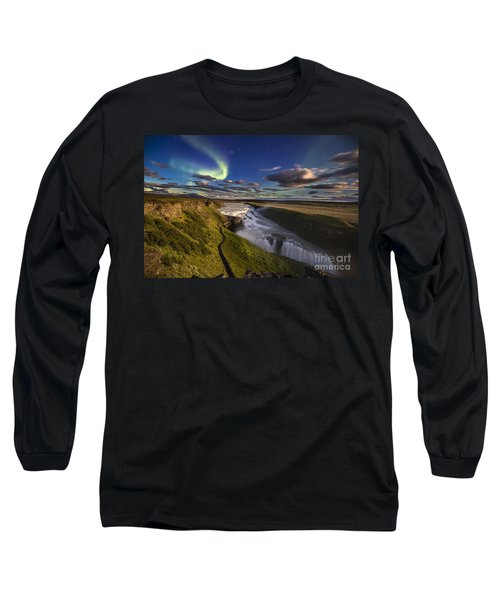 Gullfoss Iceland Long Sleeve T-Shirt
