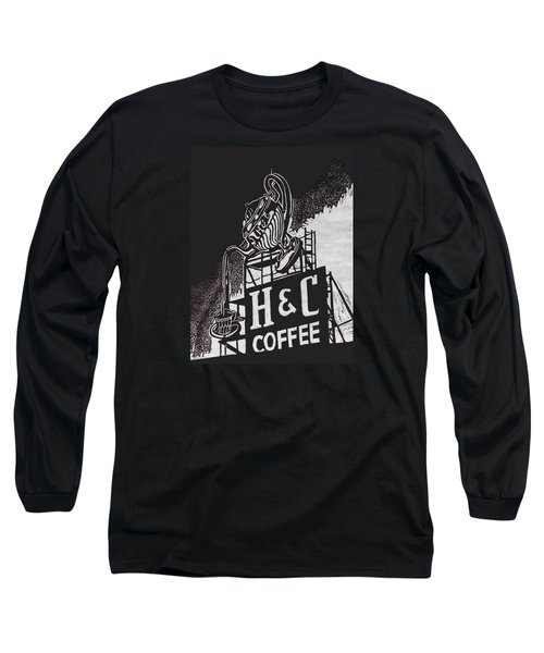 H And C Coffee Sign Long Sleeve T-Shirt
