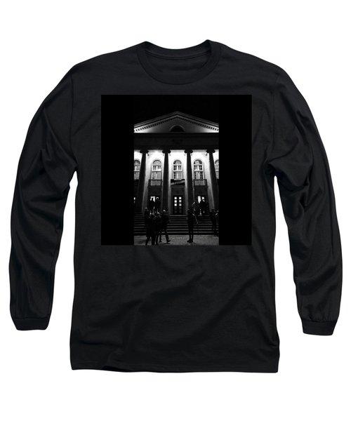 Habe Nun, Ach!  #ndh #theater Long Sleeve T-Shirt