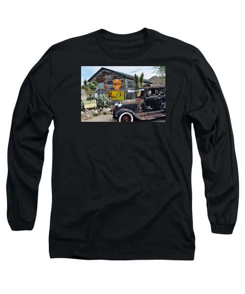 Hackberry Route 66 Auto Long Sleeve T-Shirt by Kyle Hanson