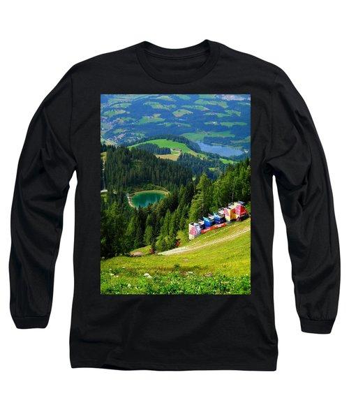 Hahnenkamm - Kitzbuehel Long Sleeve T-Shirt