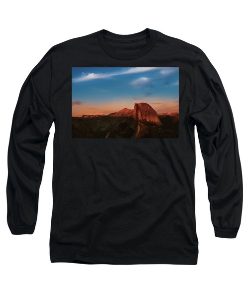 Half Dome  Long Sleeve T-Shirt by Ralph Vazquez