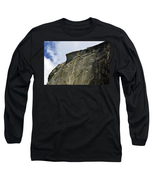 Half Dome With A View Of The Visor  Long Sleeve T-Shirt