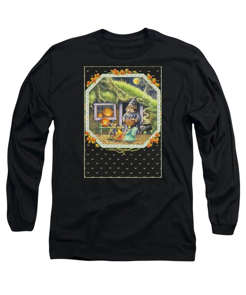 Halloween Treats Long Sleeve T-Shirt by Lynn Bywaters