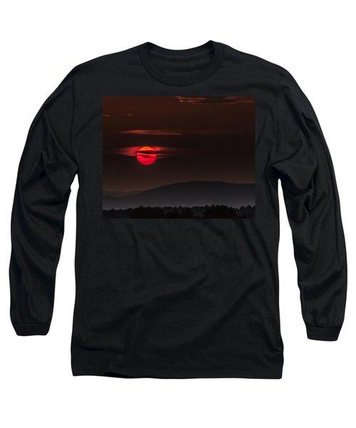 Haloed Sunset Long Sleeve T-Shirt