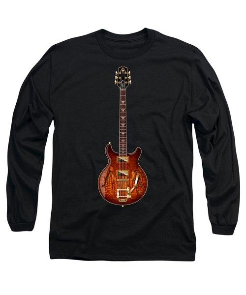 Long Sleeve T-Shirt featuring the digital art Hamer Newport Flame by WB Johnston