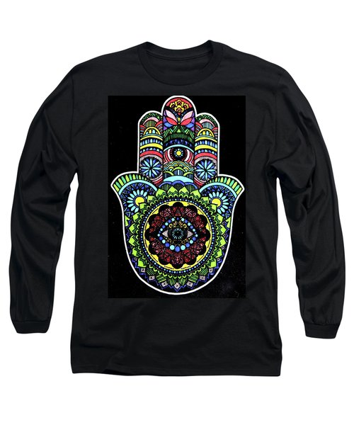 Hamsa Long Sleeve T-Shirt