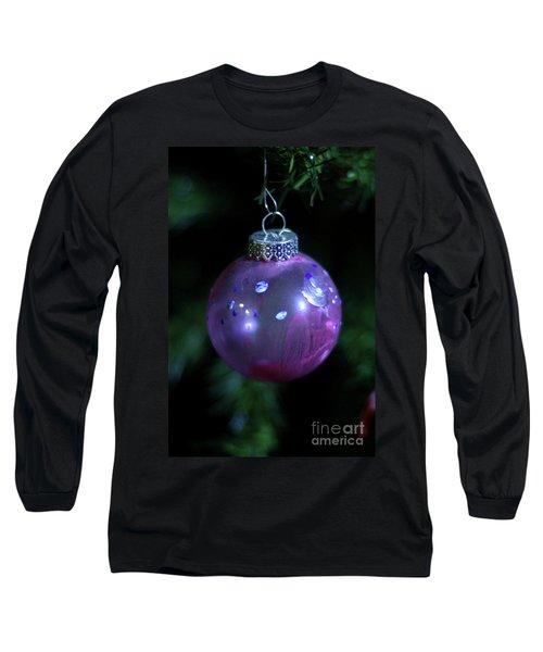 Handpainted Ornament 002 Long Sleeve T-Shirt by Joseph A Langley