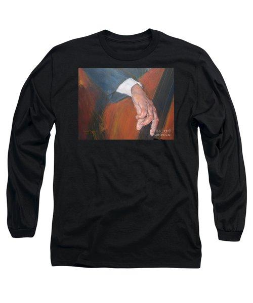Blaa Kattproduksjoner          Hands Of Deep Sound Long Sleeve T-Shirt