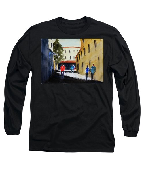 Hang Ah Alley2 Long Sleeve T-Shirt by Tom Simmons