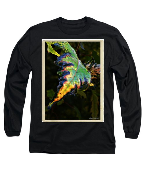 Long Sleeve T-Shirt featuring the photograph Hanging Out by Joan  Minchak