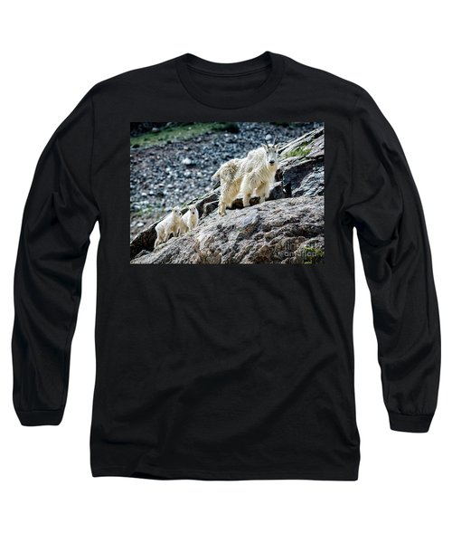 Hanging With The Kids Long Sleeve T-Shirt