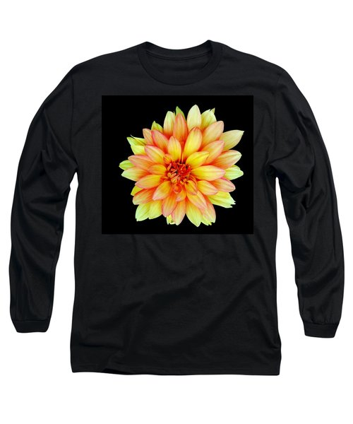Happy Dahlia Long Sleeve T-Shirt