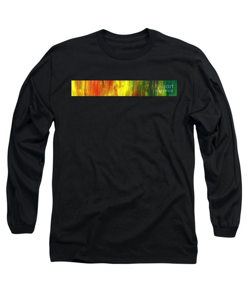 Happy Days Abstract Banner Long Sleeve T-Shirt