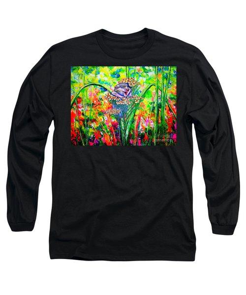 Happy Hamster Long Sleeve T-Shirt