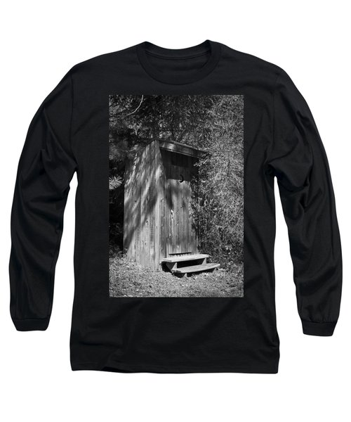 Happy Hollow Outhouse Long Sleeve T-Shirt