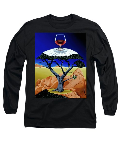 Happy Hour At The Midreal Cypress Long Sleeve T-Shirt
