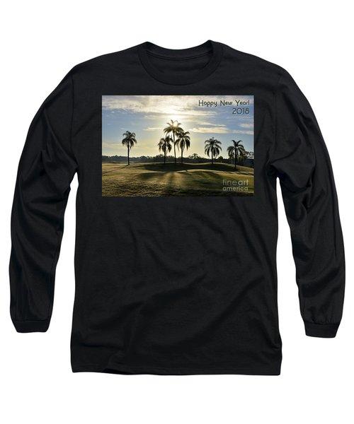 Happy New Year 2018 Long Sleeve T-Shirt