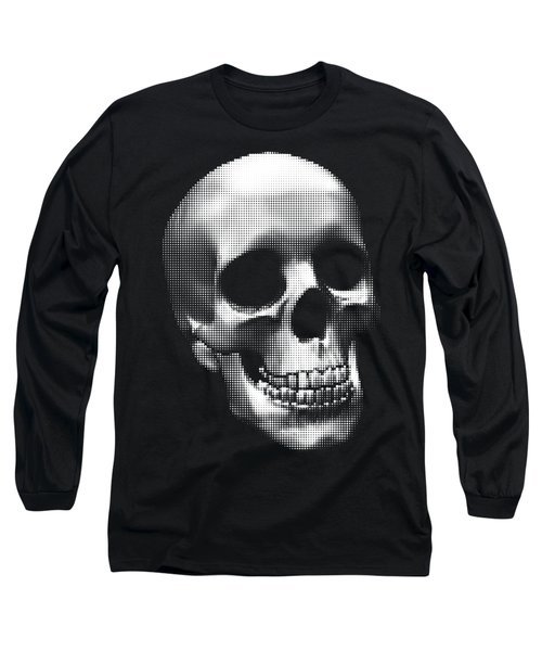 Happy Skull Long Sleeve T-Shirt