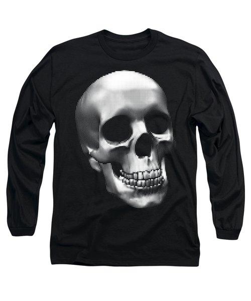 Happy Skull Long Sleeve T-Shirt