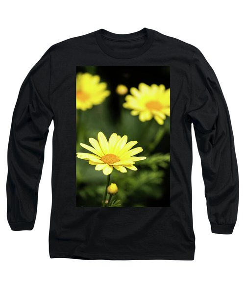 Happy Summer Flowers Long Sleeve T-Shirt