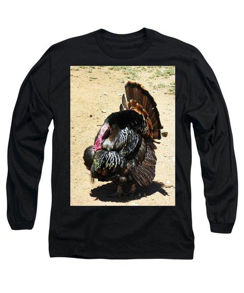 Happy Thanksgiving Long Sleeve T-Shirt by Joseph Frank Baraba