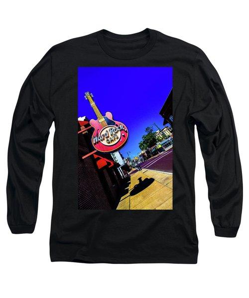 Hard Rockin On Beale Long Sleeve T-Shirt